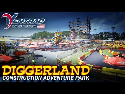 Diggerland USA: A Construction Theme Park For Kids!