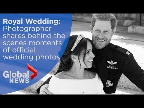 Royal Wedding: Photographer shares behind-the-scenes moments of official wedding photos