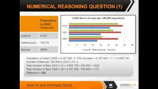 Numerical Reasoning, Numeracy Tests - How To Ace Aptitude Tests 4/7