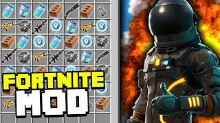 FORTNITE IN MINECRAFT MODPACK | Minecraft Mods