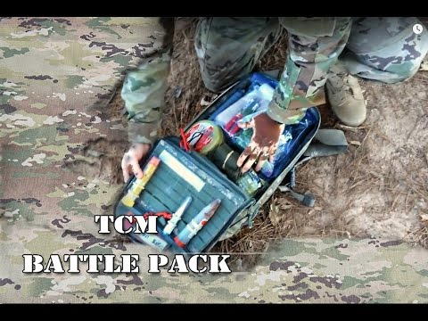 """What's in a """"Battle Pack""""? For Tactical Medics/ Medic Bag"""
