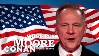 Roy Moore's New Campaign Ad  - CONAN on TBS