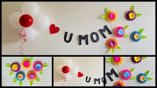 Easy Mothers Day Decoration At Home - Party Decorations.