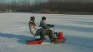 Снегоход для рыбаков Ерш