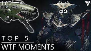 Destiny: When Dark Blade Meets A Dragon! Epic Top 5 WTF Moments Of The Week / Episode 183