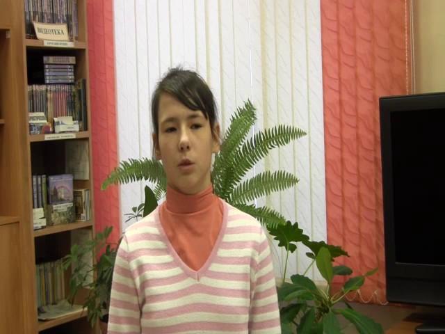 Изображение предпросмотра прочтения – ВикторияКлимова читает произведение «Волк и Журавль» И.А.Крылова