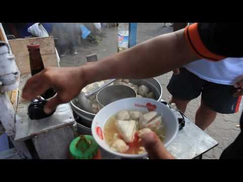 Very fast food on the street, Bali