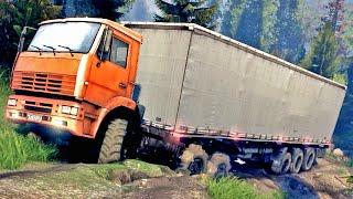 DESAFIO OFF ROAD - Caminhão no Atoleiro