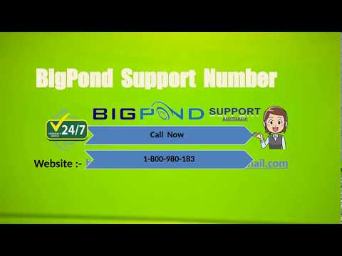 How do I change my BigPond email password?
