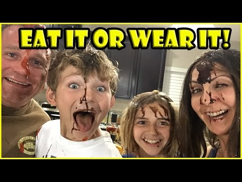 EAT IT OR WEAR IT CHALLENGE! | We Are The Davises