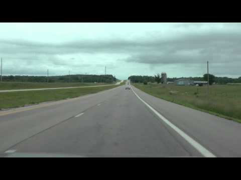 U.S. highway 60 eastbound from Cabool, MO to Big Spring, MO June 2013