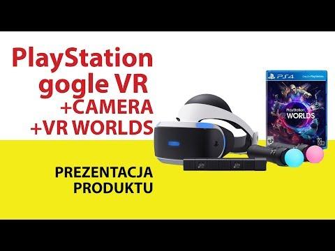 Gogle SONY PlayStation VR + Kamera + Gra VR Worlds
