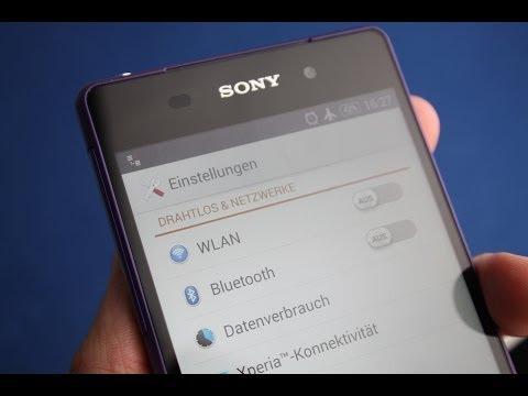 Sony Xperia Z2 -  Einstellungen/settings