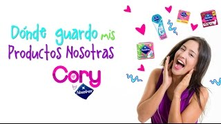 Video ¿Dónde guardar tus productos Nosotras? ✨ Cory by Nosotras download MP3, 3GP, MP4, WEBM, AVI, FLV September 2017