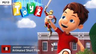 Fantastischer CGI-3d-Animierter Kurzfilm ** TOYZ ** Niedlich, Familie, Abenteuer, Cartoon für Kinder von IsArt Team