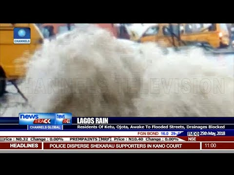 Flood Hits Lagos, After Early Morning Downpour