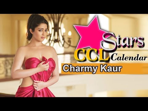 Charmy Kaur Photoshoot For CCL Calendar | Telugu Warriors - Brand Ambassador