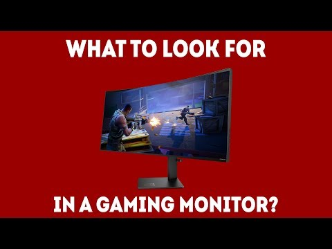 What To Look For In A Gaming Monitor [Simple Guide]