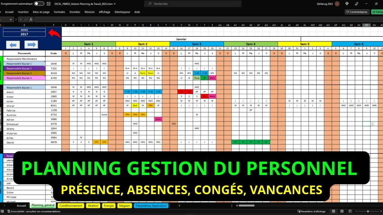 Calendrier De Travail.Planning De Travail Conges Et Absences App Gratuite