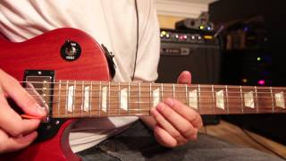 As long as I can see the light - Guitar & Solo cover - Gibson Les Paul Studio Faded Cherry