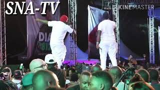 Khaligraph Jones Performance alongside Rick Ross.