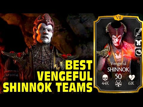 Best Vengeful Shinnok Teams in MKX Mobile. LIVE Stream + Free Souls Giveaway.