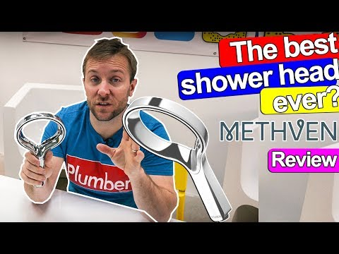 THE BEST SHOWER HEAD EVER? - Methven Aurajet Review