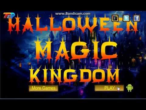 halloween magic kingdom walkthrough