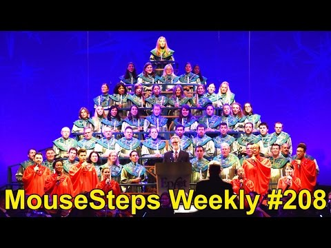 MouseSteps Weekly #208 Epcot Holidays Around the World; Via Napoli; Beach Club Carousel; Swolphin