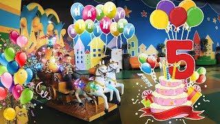 день Рождение 5 лет Дани отмечаем в Детском саду ПОДАРИЛИ Собачку Шишарика