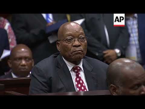 Former SAfrican President Zuma in court on corruption charges