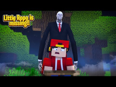 Minecraft Slenderman - ROPO GOES MISSING IN SLENDERMAN'S FOREST!!!