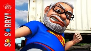 Video So Sorry: When Rajini trains Modi download MP3, 3GP, MP4, WEBM, AVI, FLV Juni 2018