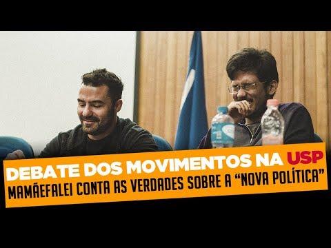 """MAMÃEFALEI DESMASCARA MOVIMENTOS QUE """"APRESENTAM"""" NOVA POLÍTICA."""