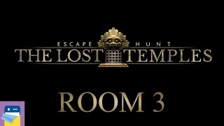 Escape Hunt The Lost Temples: Room 3 Walkthrough & iOS iPad Gameplay (by Neon Play)