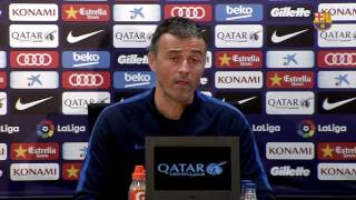 """Luis Enrique: """"It's a special game and we want to make the team and fans happy"""""""
