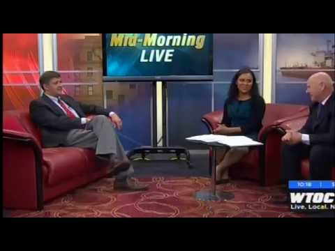 Dr  Wasil Khan appeared on WTOC Mid-Morning Live to discuss allergies  during the holiday season