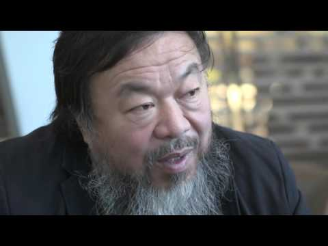 Ai Weiwei, Chinese Artist - Talking about his Tree work - Unravel Travel TV