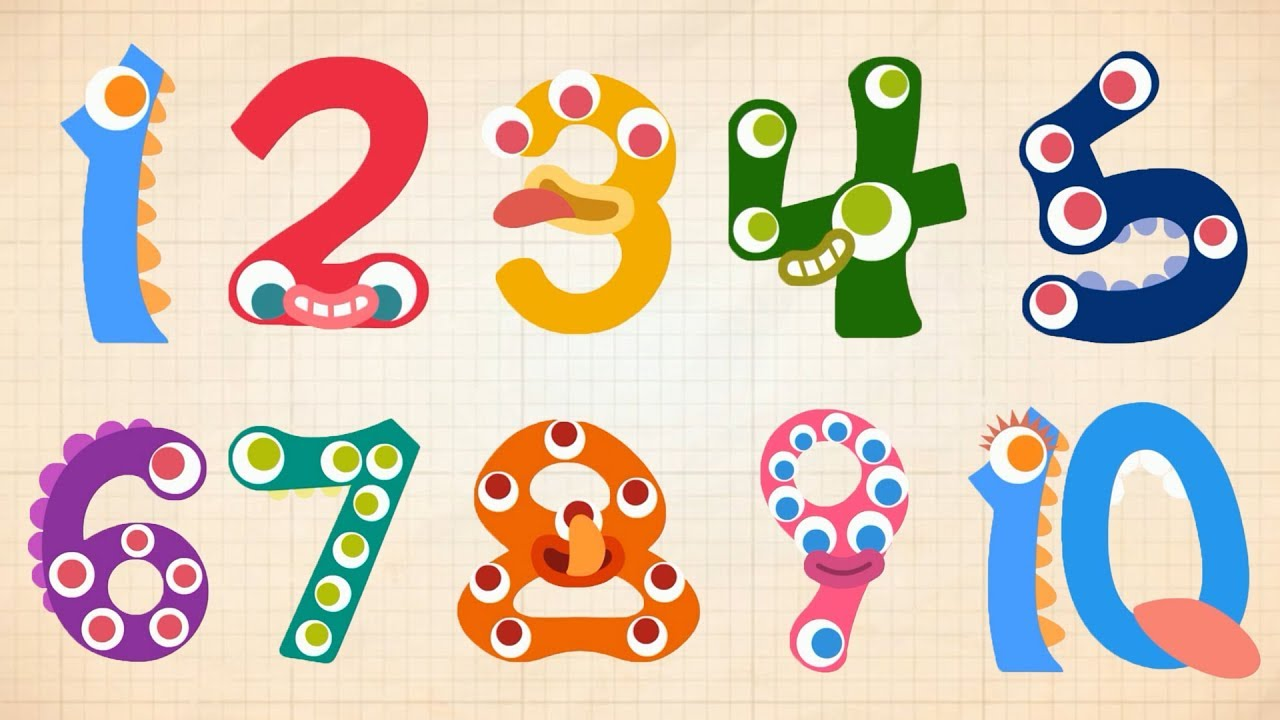 Endless Numbers - Learn to Count from 1 to 10 & Simple Addition With the Adorable Endless Monste