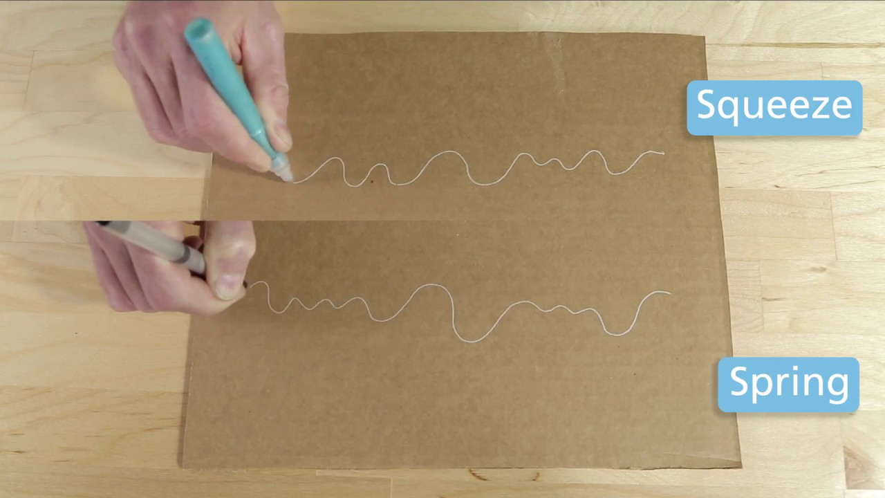 prototyping conductive ink pens spring vs squeeze pen youtube