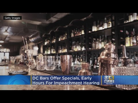 Jeff Kent - DC bars offering impeachment specials