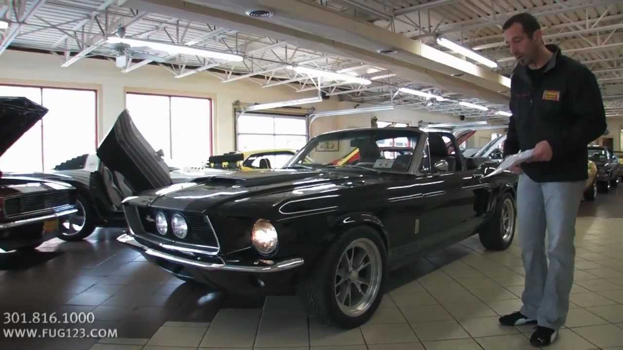 1967 ford mustang gt350 convertible for sale with test drive driving sounds and walk through video youtube