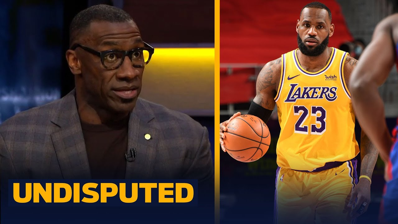 LeBron broke his own rhythm trying to get Lakers more involved in loss to Pistons | NBA | UNDISPUTED