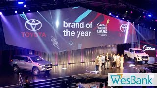 All the Highlights! 2019 Cars.co.za Consumer Awards - Powered by Wesbank