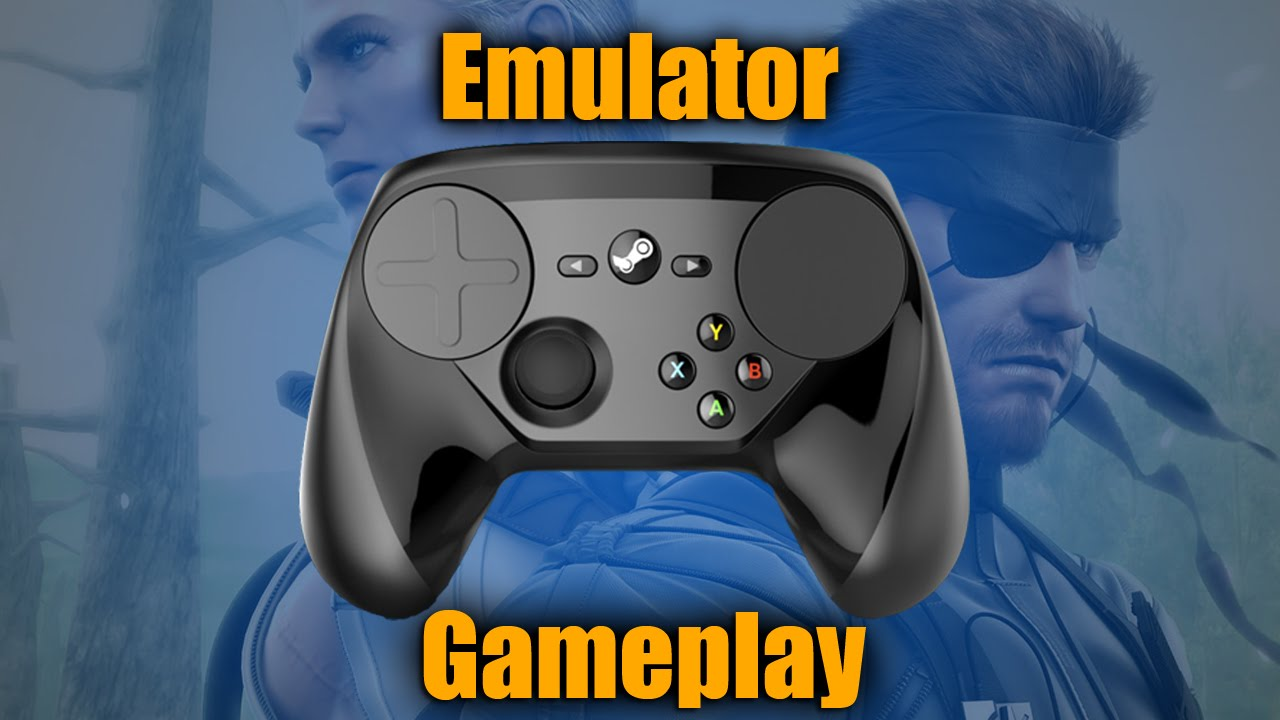 Using the Steam Controller for Emulators