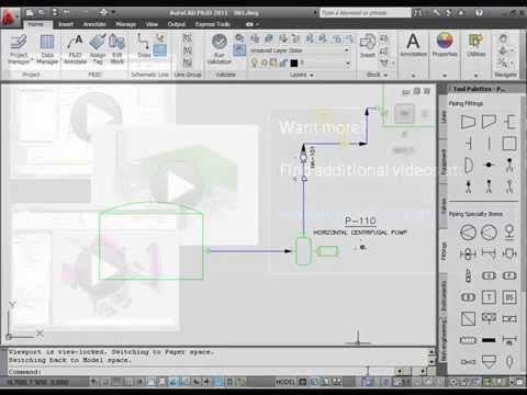 AutoCAD PID Design Basics - YouTube