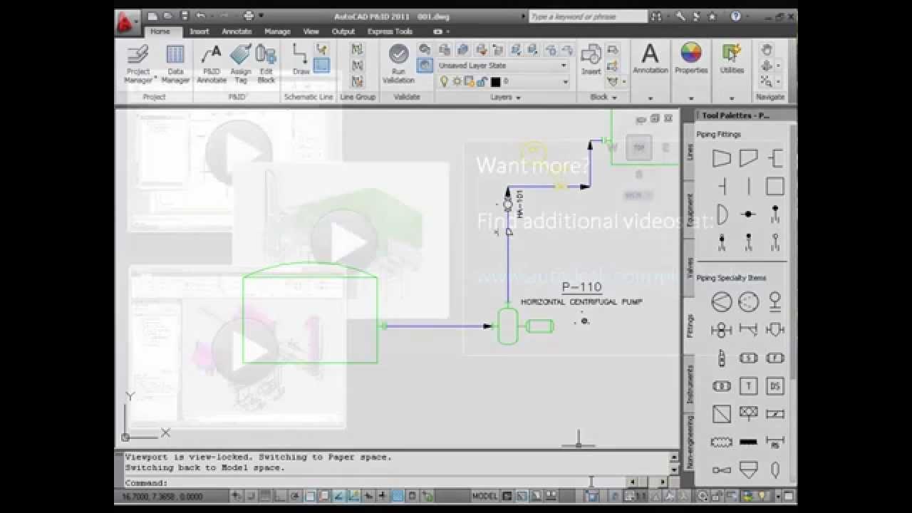 AutoCAD P&ID Design Basics - YouTube