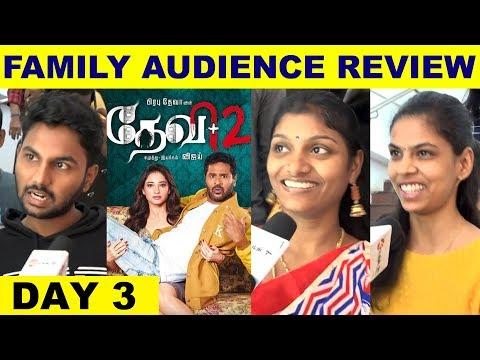 DEVI 2 Family Audience Review - Day 3   Prabhu Deva   AL Vijay   Tamannaah   Nandita Swetha