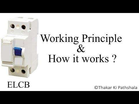 Working of ELCB (How Earth Leakage CIrcuit Breaker work) and