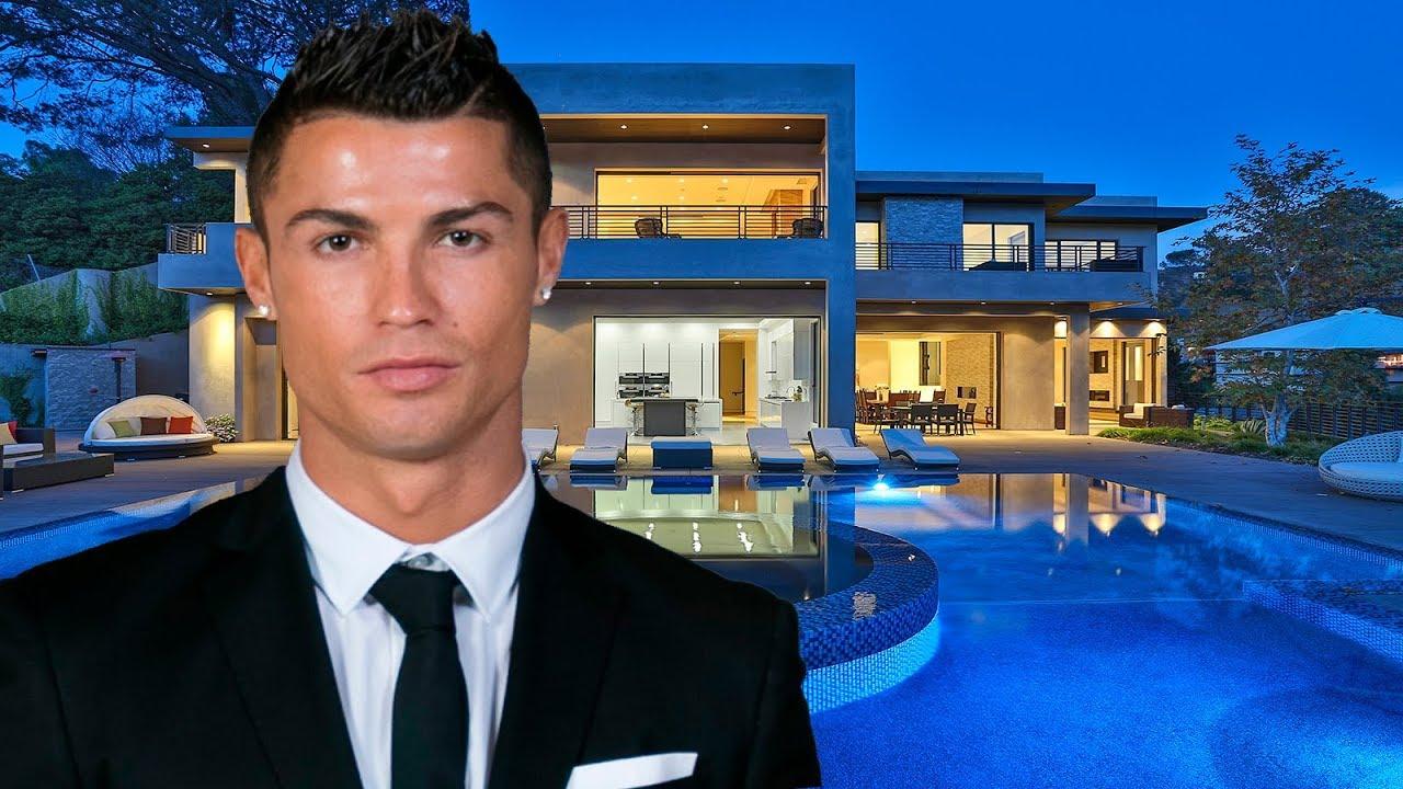 Las Casas Mas Hermosas y Caras de Cristiano Ronaldo 2018  YouTube